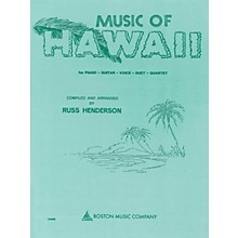 Boston Music Music of Hawaii Music Sales America Series Softcover