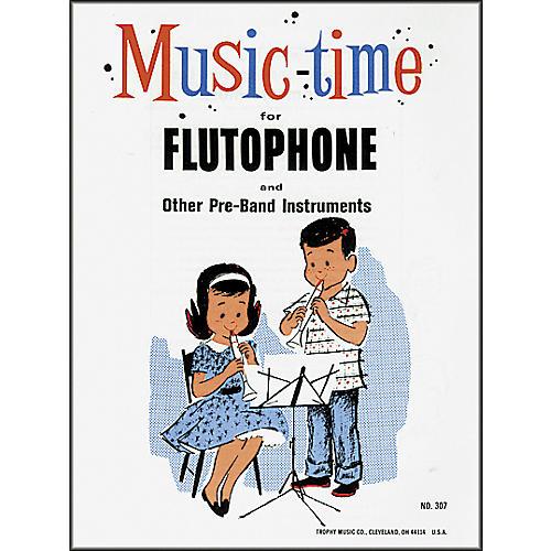 Grover-Trophy Music-time Flutophone Method Book