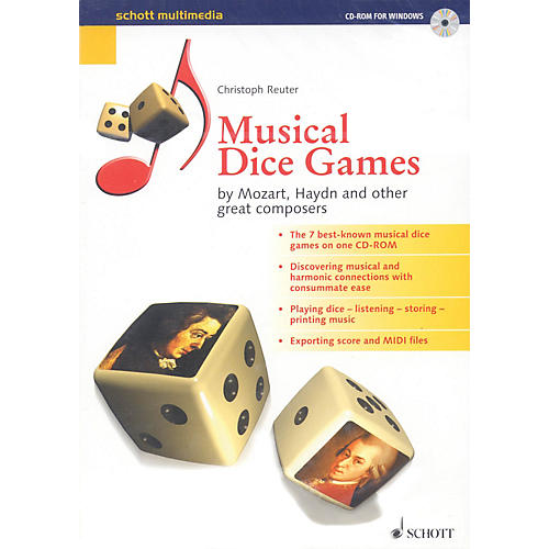 Schott Musical Dice Games (by Mozart, Haydn, and Other Great Composers) Schott Series CD-ROM