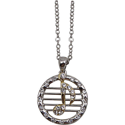 AIM Musical Note/Staff Necklace