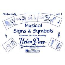 Hal Leonard Musical Signs And Symbols Set I 24 Cards 48 Sides Flash Cards Moppet