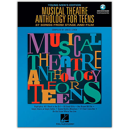 Hal Leonard Musical Theatre Anthology for Teens - Young Men's Edition (Book/Online Audio)