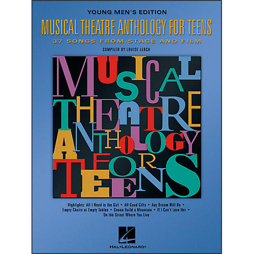 Hal Leonard Musical Theatre Anthology for Teens - Young Men's Edition