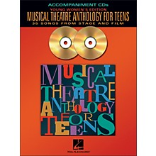 Hal Leonard Musical Theatre Anthology for Teens - Young Women's Edition  2CD Accompaniment