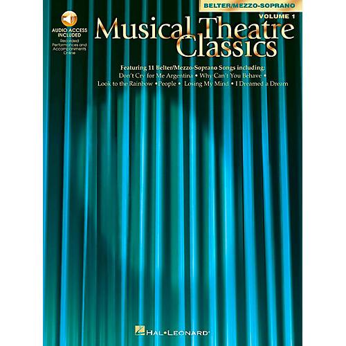 Hal Leonard Musical Theatre Classics for Mezzo-Sporano / Belter Volume 1 Book/CD