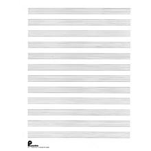 Music Sales Musipack 3 Ring Filler No. 1: 12-stave (Passantino Manuscript Paper) Music Sales America Series