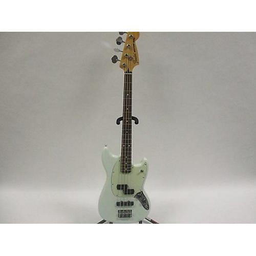 used fender mustang bass electric bass guitar sonic blue guitar center. Black Bedroom Furniture Sets. Home Design Ideas