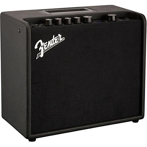fender mustang lt25 25w 1x8 guitar combo amp black. Black Bedroom Furniture Sets. Home Design Ideas