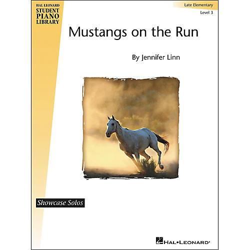 Hal Leonard Mustangs On The Run - Showcase Solo Level 3 Late Elementary Level Hal Leonard Student Piano Library by Jennifer Linn