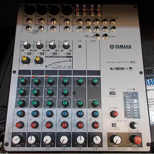 Yamaha Mw10c Digital Mixer
