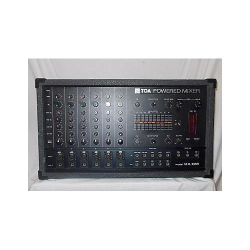 TOA Mx106r Powered Mixer