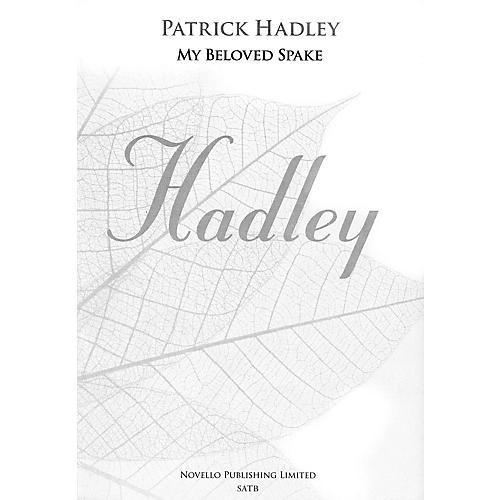 Novello My Beloved Spake SATB, Organ Composed by Patrick Hadley