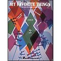 Hal Leonard My Favorite Things for Five Finger Piano with Optional Accompaniment thumbnail