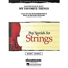 Hal Leonard My Favorite Things (from The Sound of Music®) Easy Pop Specials For Strings Series by Lloyd Conley