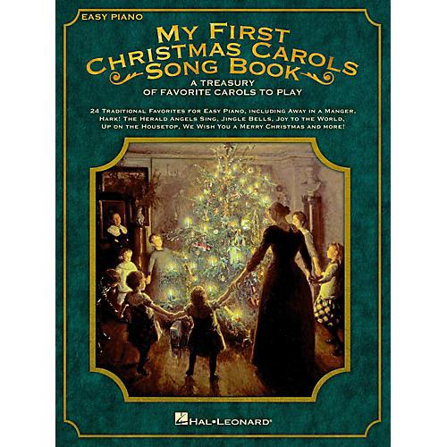 Hal Leonard My First Christmas Carols Songbook - A Treasury of Favorite Carols to Play