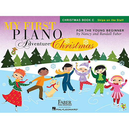 Faber Piano Adventures My First Piano Adventure Christmas - Book C Faber Piano Adventures by Nancy Faber (Level Early Elem)