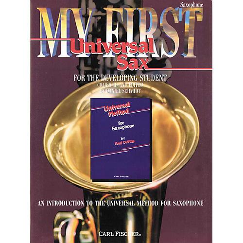 Carl Fischer My First Universal for Alto Saxophone