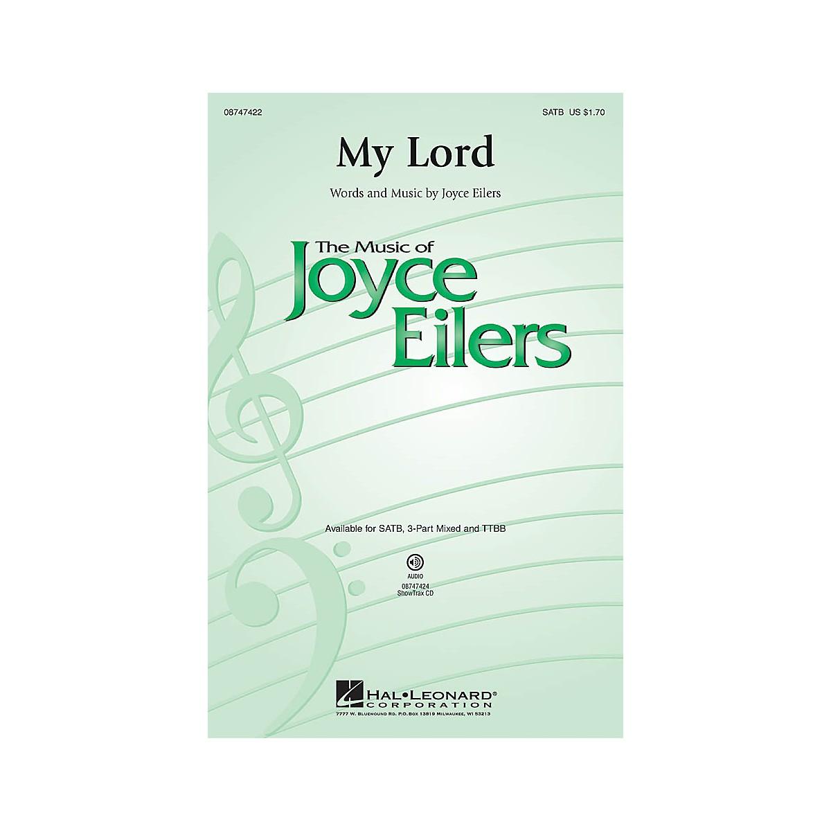 Hal Leonard My Lord TTBB Composed by Joyce Eilers