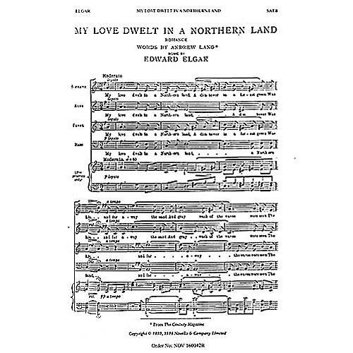 Novello My Love Dwelt in a Northern Land SATB