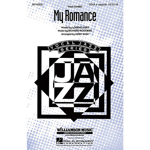 Hal Leonard My Romance SSAA A Cappella arranged by Kirby Shaw