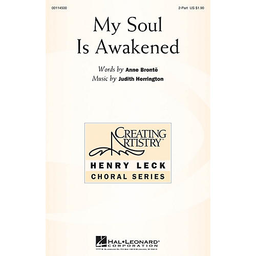 Hal Leonard My Soul Is Awakened 2-Part composed by Judith Herrington