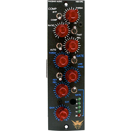 Phoenix Audio N90-DRC/500, 500-Series Compressor and Gate