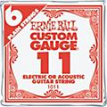 Ernie Ball NCKL Plain Single Guitar String 6-Pack thumbnail