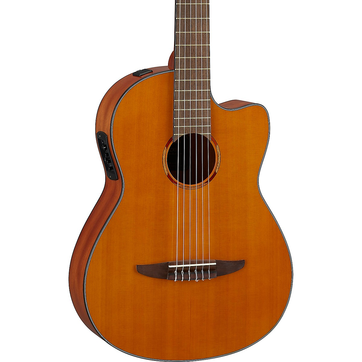 Yamaha NCX1C NT Cutaway Acoustic-Electric Classical Guitar