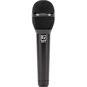 electro voice nd76 dynamic cardioid vocal microphone guitar center. Black Bedroom Furniture Sets. Home Design Ideas