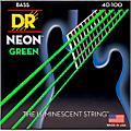 DR Strings NEON Hi-Def Green Bass SuperStrings Light 4-String thumbnail