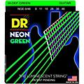 DR Strings NEON Hi-Def Green SuperStrings Light Top Heavy Bottom Electric Guitar Strings thumbnail