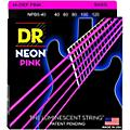 DR Strings NEON Hi-Def Pink Bass SuperStrings Light 5-String thumbnail