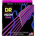 DR Strings NEON Hi-Def Pink SuperStrings Light Top Heavy Bottom Electric Guitar Strings thumbnail