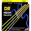 DR Strings NEON Hi-Def Yellow Bass SuperStrings Medium 4-String thumbnail