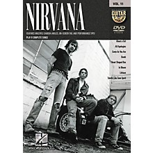Hal Leonard NIRVANA - GUITAR PLAY-ALONG SERIES ON DVD VOLUME 11