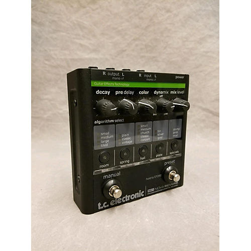 used tc electronic nova reverb effect pedal guitar center. Black Bedroom Furniture Sets. Home Design Ideas