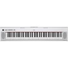 NP-32 76-Key Piaggero Portable Keyboard White