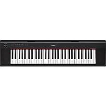 NP12 61-Key Entry-Level Piaggero Ultra-Portable Digital Piano Black