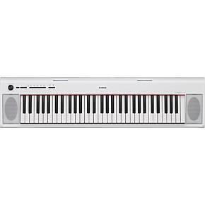 Yamaha NP12 61-Key Entry-Level Piaggero Ultra-Portable Digital Piano Black