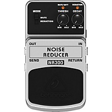 Behringer NR300 Noise Reducer Noise Reduction Effects Pedal