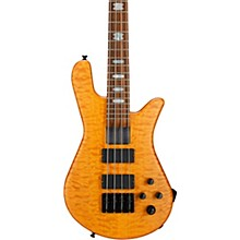 NS-4H2-FM USA 4-String Bass Guitar Golden Stain Black Hardware