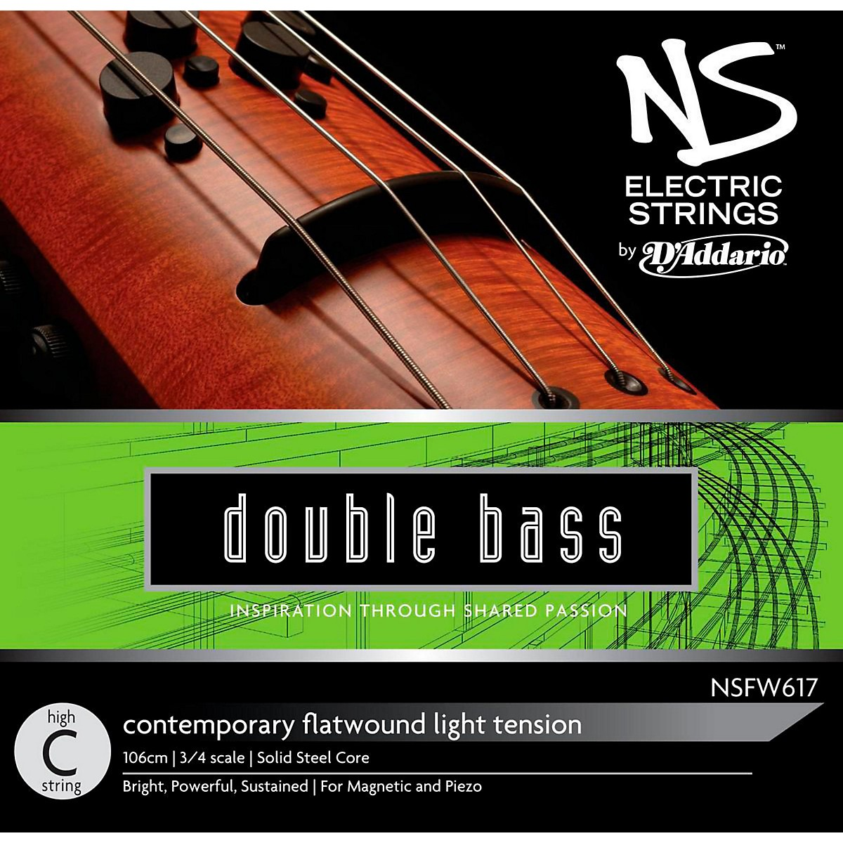 D'Addario NS Electric Contemporary High C String
