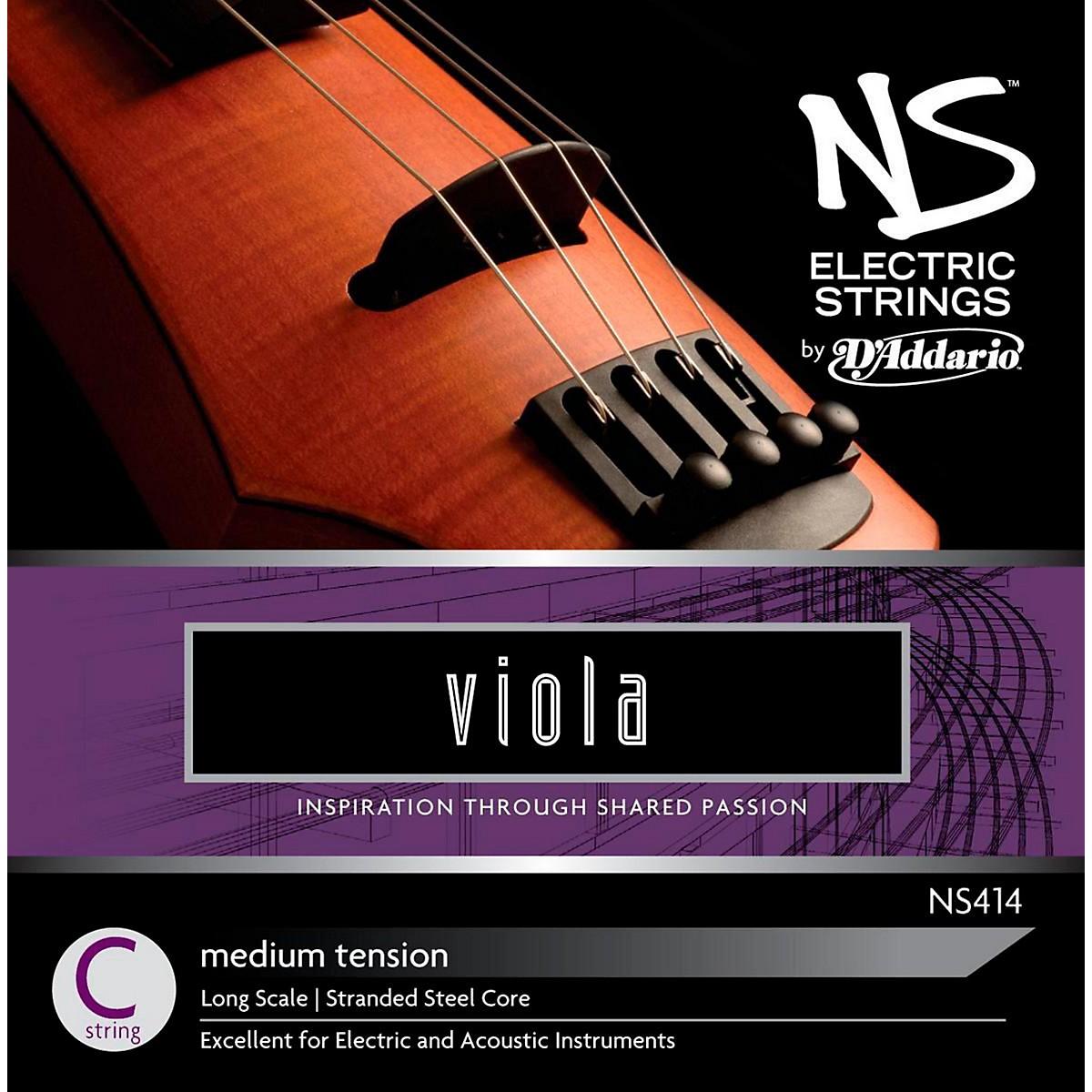 D'Addario NS Electric Viola C String