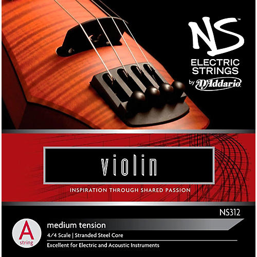 D'Addario NS Electric Violin A String
