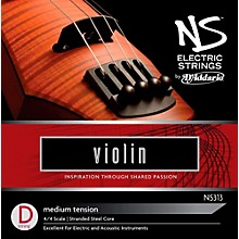 D'Addario NS Electric Violin D String