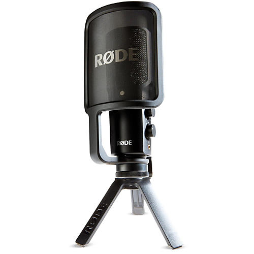Rode Microphones Nt Usb Usb Condenser Microphone Guitar