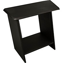 """Ultimate Support NUC-R12L Nucleus Series - Studio Desk Table Top - Single 24"""" extension with 12 space rack (Left)"""