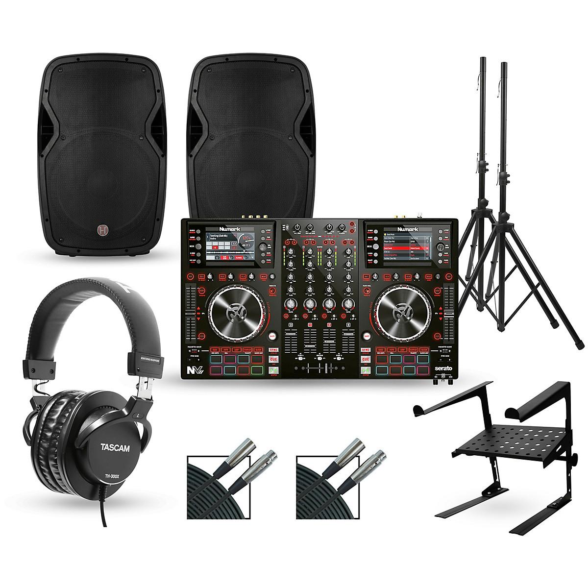Numark NV MKII with Harbinger V1015 DJ Package