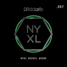 D'Addario NYNW057 NYXL Nickel Wound Electric Guitar Single String, .057