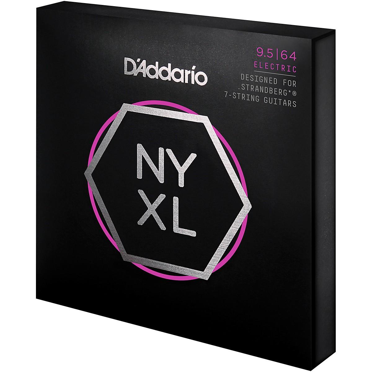 D'Addario NYXL Strandberg 7-String Super Light Plus